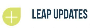 """Leap Update: """"La luce dopo l'oscurità"""""""
