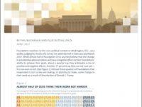 Un nuovo studio analizza come le fondazioni USA stiano reagendo al mutato contesto politico