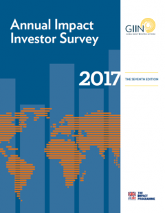 2017 Annual Impact Investor Survey