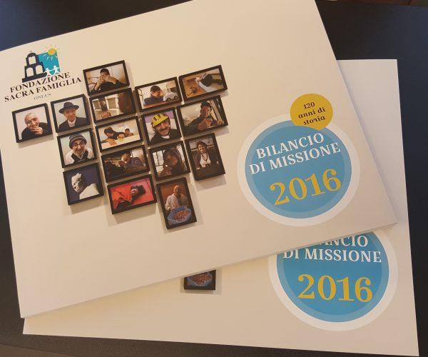 Bilancio di Missione 2016 di Fondazione Sacra Famiglia e calcolo del Social Return on Investment (SROI)