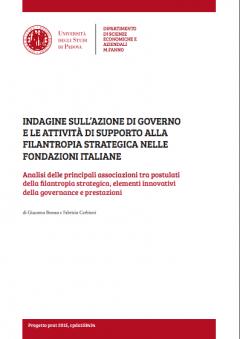 Governance e filantropia strategica nelle fondazioni d'erogazione italiane