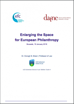 Enlarging the Space for European Philanthropy