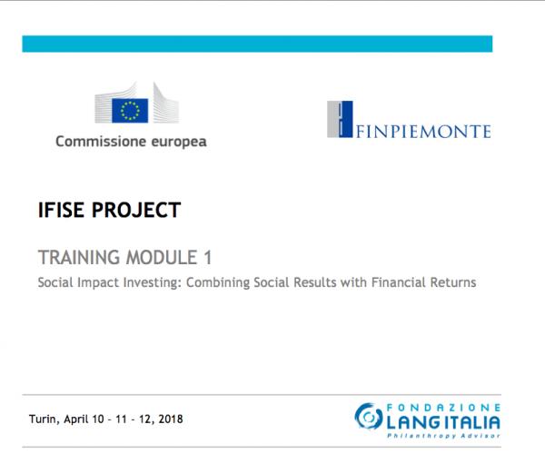Social Impact Investing per la Pubblica Amministrazione