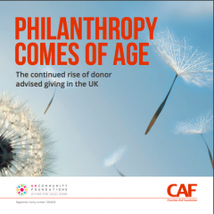 Philanthropy Comes of Age 2018