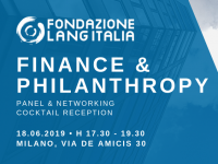 18 giugno 2019: aperitivo Donor-Advised Funds