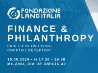 18 giugno 2019: aperitivo Donor-Advised Funds
