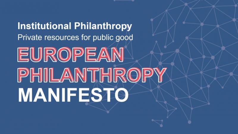 Manifesto Europeo della Filantropia